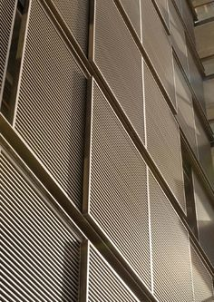 ISSUU - Inhaus 05 by GRAIMAN Metal Facade, Metal Screen, Screen Design, Facade Design, Design Hotel, Expanded Metal Mesh, Feature Wall Design, Cladding Systems, Interesting Buildings