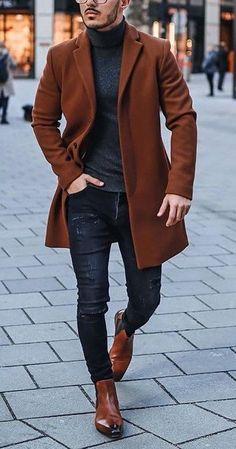 Macho Moda - Blog de Moda Masculina: Por que você PRECISA de mais Roupas em TONS TERROSOS? 5 Provas IMPOSSÍVEIS de ignorar! Best Casual Wear For Men, Stylish Mens Outfits, Winter Outfits Men, Smart Casual, Nice Outfits For Men, Summer Outfits, Fall Outfits, Mens Fashion Wear, Suit Fashion