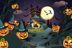 Let EMPIRE777 brighten up your Halloween Month!  We are now switch to Halloween mode! Enjoy your Halloween with  us and more promotions to go!!  ♠visit us now :www.empire777.com