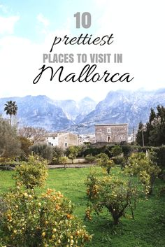 10 places to visit in Mallorca, Spain Romantic Vacations, Romantic Getaway, Romantic Travel, Ibiza, Cool Places To Visit, Places To Travel, Travel Destinations, Romantic Destinations, Travel Things
