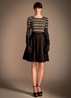 Temperley London, Pre Fall '13, Valeria Jumper and Adele Leather Skirt