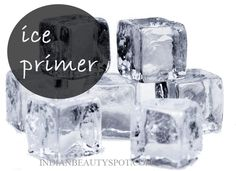 ♥ Makeup N Beauty Tips and Tricks ♥ : Ice Primer