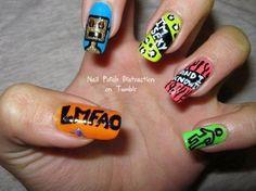 LMFAO Nails!