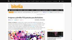 Páginas con plantillas PSD gratuitas para usar con Photoshop
