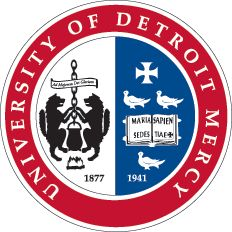 Seal of the University of Detroit Mercy, founded as a Jesuit Catholic university in Detroit, Michigan in Nursing Schools In Nc, Online Certificate Programs, Types Of Education, Accelerated Nursing Programs, Schools In America, Catholic University, School Fun, Homeschool, Teaching