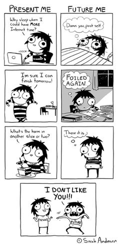 the face of regret | #funny cartoon by Sarah Lee Andersen