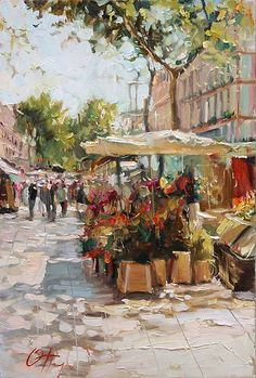 Russian Artist Oleg Trofimoff (born in 1962) A lot of his works are in private collections in Russia, Ukraine, Bulgaria, Poland, Finland, Sweden, Germany, Switzerland, Italy, Cyprus, Spain, France, Canada, USA. In 2008 some of his paintings were purchased by Naples Museum of Fine Art (Naples, Florida, USA) and Dallas Arts and Crafts Museum (Dallas, Texas, USA). http://fineartamerica.com/profiles/oleg-trofimoff.html