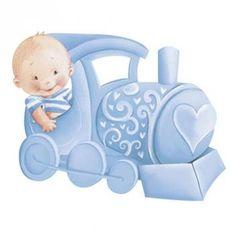 Aplique Decoupage em Papel e MDF Trenzinho com Bebê Menino APM8-644 - Litoarte com as melhores condições você encontra no site do Magazine Luiza. Confira!