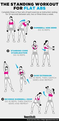 4 Standing Moves for a Super-Flat Stomach www. 4 Standing Moves for a Super-Flat Stomach www.womenshealthm… 4 Standing Moves for a Super-Flat Stomach www.
