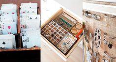 20 Ideias para Organizar Bijuterias | Vivendo Vivi | Vegetarianismo | Beleza | Resenhas | Livros | Comportamento