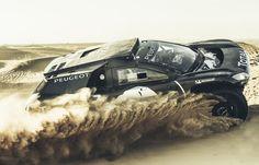 Versión Renovada del Peugeot de Sainz para el Dakar: Más Grande y Potente +AS
