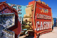 las vegas sign graveyard | Neon Museum, Las Vegas, NV | Flickr - Photo Sharing!
