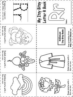 learning letter sounds printable activity worksheet letter r coloring pages preschool