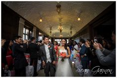 Stunning ceremony in the Long Gallery