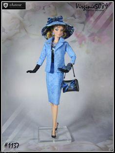 Tenue Outfit Accessoires Pour Fashion Royalty Barbie Silkstone Vintage 1237 | eBay