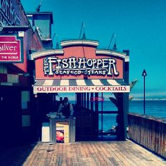 Sip on the ultimate seafood bloody mary at the Fish Hopper. Or pick up a picnic to-go.