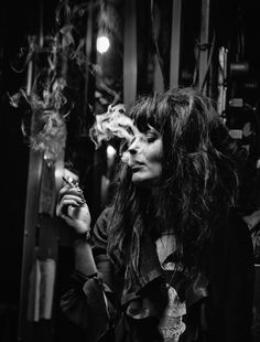 Allison Mossheart,  The Kills, The Dead Weather, Minneapolis 2010.