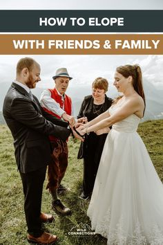 Learn how you can have an intimate wedding day that feels like an elopement whilst still including your family and friends. Elope Wedding, Wedding Day, Wedding Story, Family Traditions, Vows, Austria, Real Weddings, Wedding Planning, Feels
