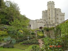 Windsor Castle, London. I want to go to ALL the castles...