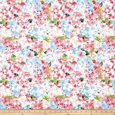 Michael Miller Spring Fling Delia Pink from @fabricdotcom  Designed for Michael Miller Fabrics, this cotton print fabric is perfect for quilting, apparel and home decor accents. Colors include light blue, shades of pink, lime, green, white and black.