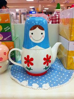 Russian Doll teapot