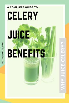 Did you know that celery has more health benefits than the most exotic vegetables? Check out our complete guide to all things celery. We look at the science behind celery juice benefits and the celery juice craze. #celeryjuicecleanse #celeryjuicing #juicingforhealth #juicingbenefits #juicingcelerybenefits Celery Juice Benefits, Juicing Benefits, Healthy Eating Tips, Healthy Recipes, Healthy Food, Blender Recipes, Healthy Life, Vegetarian Recipes, Clean Eating