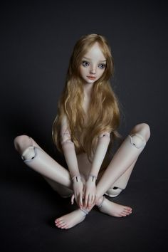 double jointed hip doll. Pretty cool!