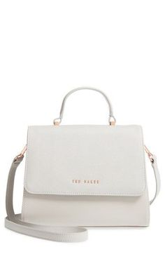 bae0016dc726 TED BAKER SMALL HILARYY FAUX LEATHER SATCHEL - GREY.  tedbaker  bags   leather  hand bags  satchel  lining    leathersatchelbag  satchels