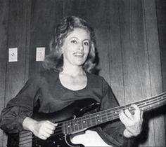 legendary bad ass bass player Carol Kaye played on the songs:  California Girls, I'm a Believer, Witchita Lineman, Midnight Confessions, Sixteen Tons, These Boots Are Made For Walkin, Homeward Bound, Then He Kissed Me, Johnny Angel, La Bamba, Needles and Pins, The Beat Goes On, You've Lost That Lovin Feeling, Hikky Burr, the Get Smart theme, the Kojak theme, the Mission: Impossible theme and million other seminal songs of the 1960s and 70s.
