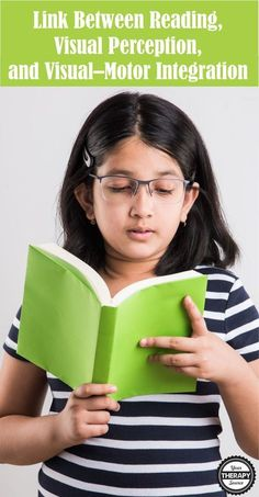 Dyslexia discussed the link between reading, visual perception, and visual–motor integration using the Developmental Test of Visual Perception version 2 Visual Motor Activities, Visual Learning, Therapy Activities, Visual Perception Activities, Pediatric Occupational Therapy, Pediatric Ot, Dyscalculia, Vision Therapy, Visual Memory