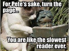 Slowest. Reader. Ever.