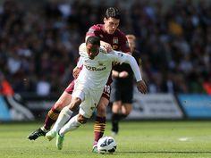 ~ Jonathan de Guzman of Swansea City AFC against Manchester City ~