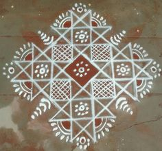 Favourite Rangoli Rangoli Borders, Rangoli Border Designs, Rangoli Patterns, Rangoli Ideas, Diwali Rangoli, Kolam Designs, Easy Rangoli, Simple Rangoli Designs Images, Small Rangoli Design