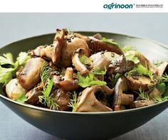 Roasted Mushrooms and Shallots with Fresh Herbs. For this earthy spring side dish, Su-Mei Yu tosses warm roasted mushrooms and whole shallots with a refreshing combination of dill, mint and parsley. Growing Mushrooms At Home, How To Cook Mushrooms, Roasted Mushrooms, Stuffed Mushrooms, Mint Recipes, Herb Recipes, Mushroom Recipes, Healthy Recipes, Vegetable Recipes