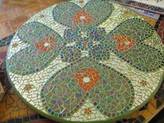 mosaic lazy susan, mosaic furniture