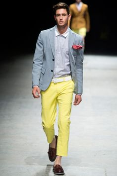 Andrea Pompilio | I shall rock this look next week, but with a blue blazer.