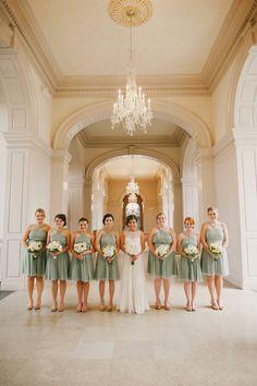 Jenny Yoo Bridal JCrew Bridesmaids The Henry Ford Museum Lovett Hall