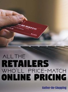 All of the Retailers That'll Price-Match Online Pricing – Finance tips, saving money, budgeting planner Best Money Saving Tips, Ways To Save Money, Money Tips, Saving Money, How To Make Money, Money Savers, Budgeting Worksheets, Budgeting Tips, Preparing For Retirement