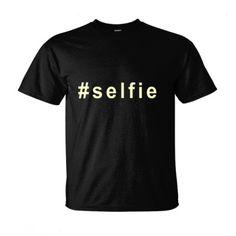 #selfie hashtag t shirt, $19.99 http://www.theteemerchant.com/shop/view_product/_selfie_hashtag_t_shirt?n=5661732