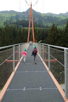 """Golden Gate Bridge der Alpen"" Golden Gate Bridge, Fun, Travel, Blog, Hiking With Kids, Hill Walking, Hiking Trails, Paradise, Alps"