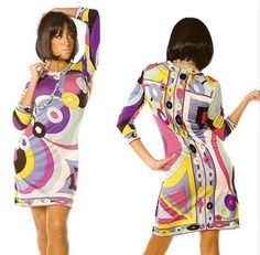 Emilio Pucci 60's fashions | Miss Dandy: Signature Prints: Jet-Set Glamour of the 60s & 70s