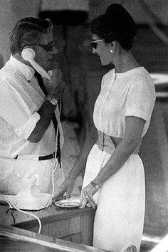 Maria Callas & Aristotle Onassis