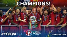 Portugal euro 2016 champs!