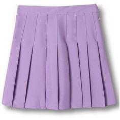 Choies Purple Pleated Mini Skirt ($12) ❤ liked on Polyvore featuring skirts, mini skirts, purple, pleated mini skirt, mini skirt, pleated miniskirt, short mini skirts and purple skirt