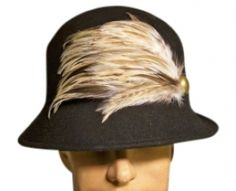 Stylish Jessica Simpson Hat With Feather Accent. Nwt Hats $22