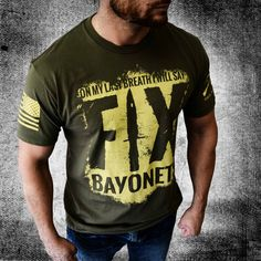 Fix Bayonets! Starts shipping July 11th! Preorder now and get $3 off! http://www.gruntstyle.com/Fix-Bayonets