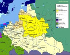 1569 Weakening Lithuania enters a formal Commonwealth with Poland.