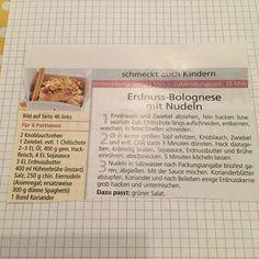 Erdnuss Bolognese