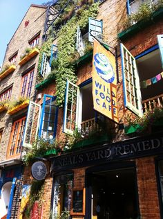 Natural Organic Lifestyle at Neal's Yard Alley in Covent Garden #London   SEVDA Blog