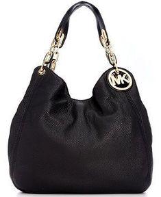 MICHAEL Michael Kors Handbag, Fulton Large Shoulder Tote - Michael Kors #handbags - Handbags  Accessories - Macys